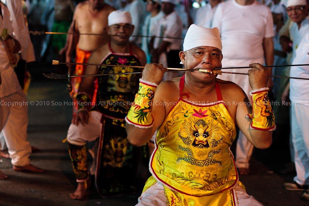 Nine Emperor Gods Procession @ Ampang, Malaysia