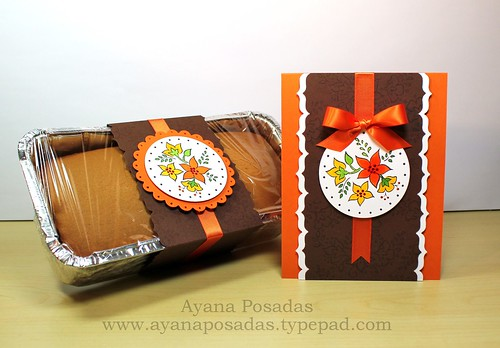 Autumn Card w Pumpkin Bread (1)