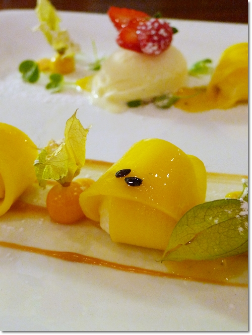 Monika - Mango Ravioli