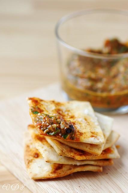 Speedy crackers (au levain)