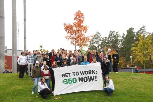 LinTeks Klimatvecka har nu planterat rödeken på Campus Valla vid Linköpings universitet