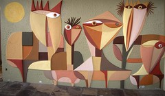 Mural at Zambi (IrvineShort) Tags: africa mozambique maputo panchoguedes