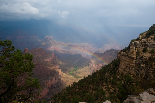 A Grand Canyon Rainbow
