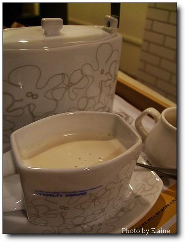 三皇三家鮮奶茶