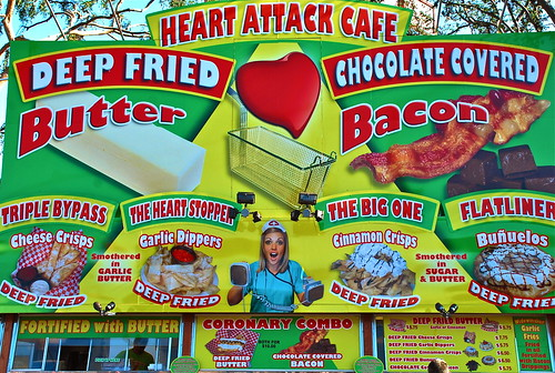 heart attack cafe. Heart Attack Cafe. Seen at the 2010 Orange County Fair.