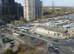 Regional Bus Terminal (Sean_Marshall) Tags: toronto ontario bus station subway ttc terminal transit yongestreet northyork gotransit yorkregion