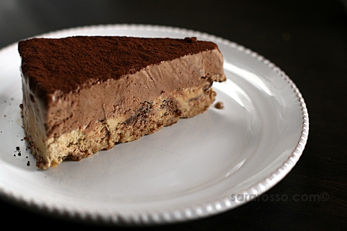 Chocolate Mousse and Espresso Coffee Chocolate Chip Mousse Cake ...