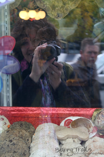 self portrait cookie window