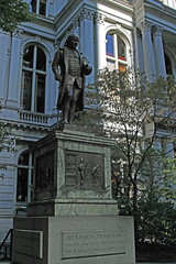 Benjamin Franklin Statue at Old City Hall (Ernie Orr) Tags: boston benjaminfranklin freedomtrail oldcityhall