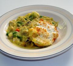 casserole plated