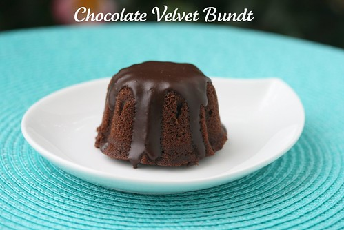 Chocolate Velvet Bundts with Ganache - I Like Big Bundts 2