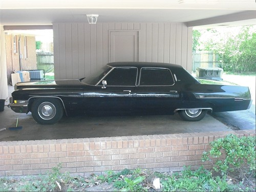 1972 Cadillac Fleetwood Sixty Special Brougham A Photo