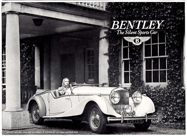 1939 Bentley 4-1/2 Litre Sports Tourer
