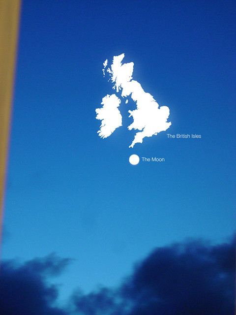 The Moon and The British Isles