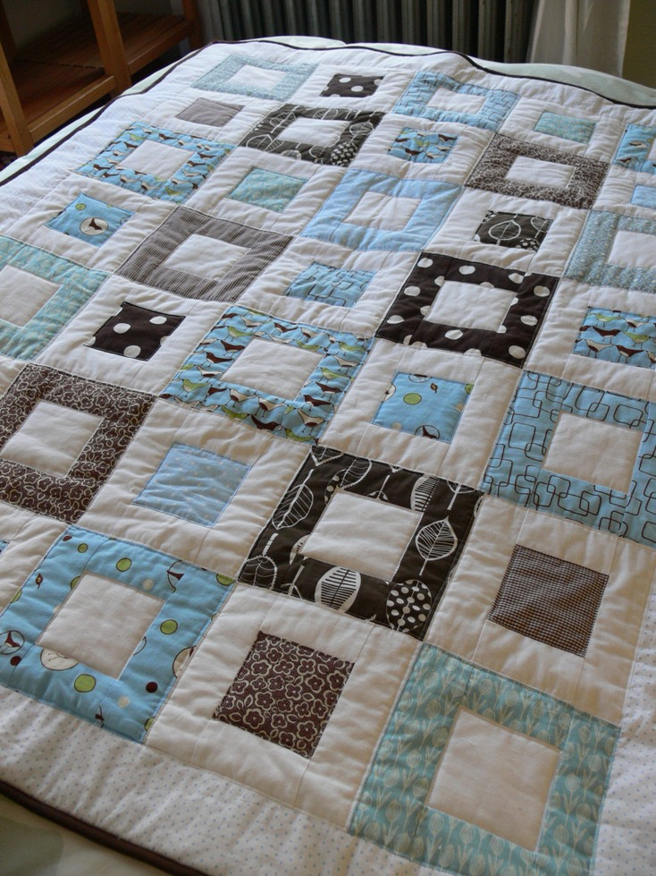 Stumbles Amp Stitches Quot Welcome Baby Quot Quilt Done
