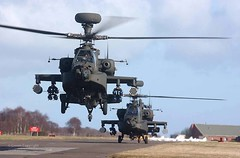 Army AH64D Apache Longbow Helicopters at RAF Leuchars (Defence Images) Tags: uk army scotland apache aircraft military attack free equipment helicopter british rockets takeoff defense tayside defence weapons pods helo longbow rafleuchars wah64