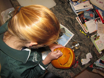 Making of The Jersey Pumpkin 3