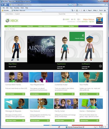 Lavado de cara a Xbox.com