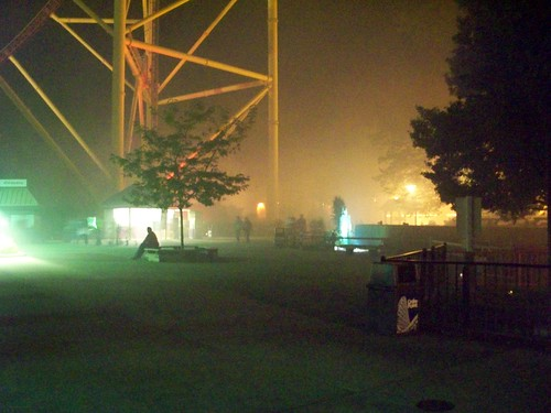 Cedar Point - Magnum Area Fog