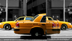 New York City (2009) (David Tesinsky - Photographer) Tags: newyork manhattan taxi wallstreet yellowtaxi