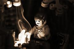 Light A Small Fire... (WhereverPanda) Tags: building brick toy fire lyrics lego smoke lame mew wherever