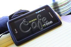 Nikon D7000 Cafe: on my Samsung Captivate