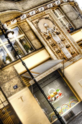 Jewish quarter. Prague. Barrio judío. Praga
