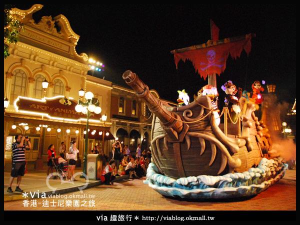 【香港旅遊】跟著via玩香港(2)~迪士尼萬聖節夜間遊行超精彩!20