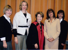 """Penny and friends at UOttawa award for Micheleine Bachelet, former President of Chile • <a style=""""font-size:0.8em;"""" href=""""http://www.flickr.com/photos/21584185@N07/5110859775/"""" target=""""_blank"""">View on Flickr</a>"""