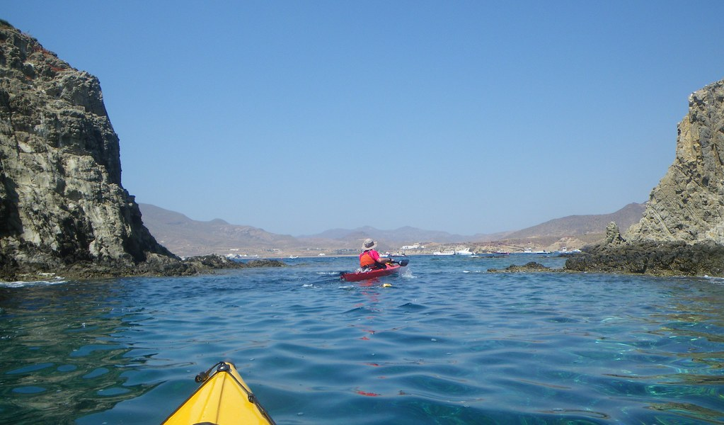 Cabo de Gata en kayak 381
