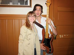 Me and Wylie, bassist of Dawes