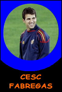 Pictures of Cesc Fabregas