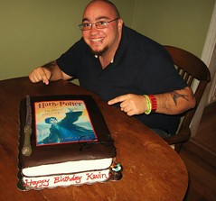 Harry Potter Cake for Kevin by Elicia