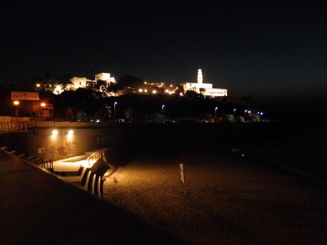 Port of Jaffa at Night