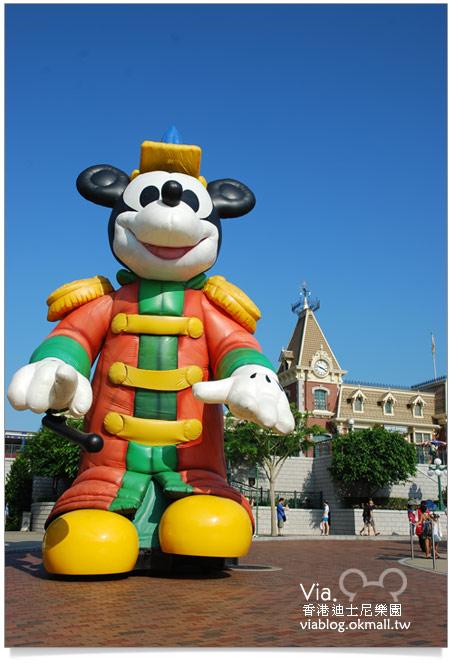 【香港迪士尼】跟著via玩香港(3)~迪士尼卡通人物歡樂巡遊10