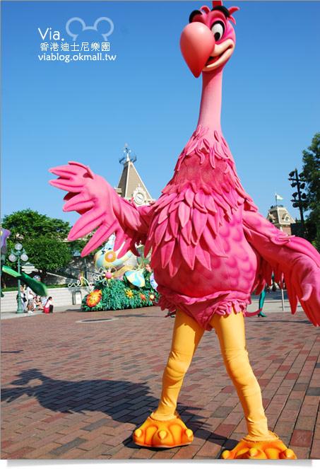 【香港迪士尼】跟著via玩香港(3)~迪士尼卡通人物歡樂巡遊22