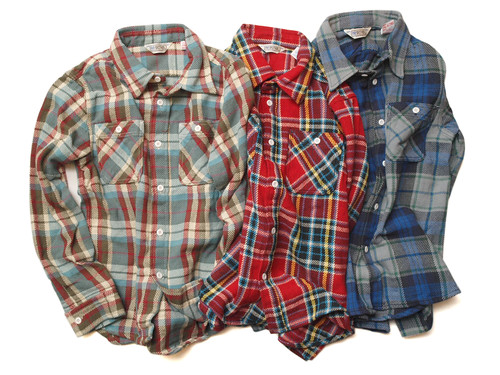 Five Brother / Heavy Flannel Work Shirts