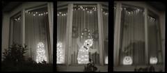 Boo (efo) Tags: bw halloween window lights triptych jackolantern ghost olympus boo pens multiframe efos penorama