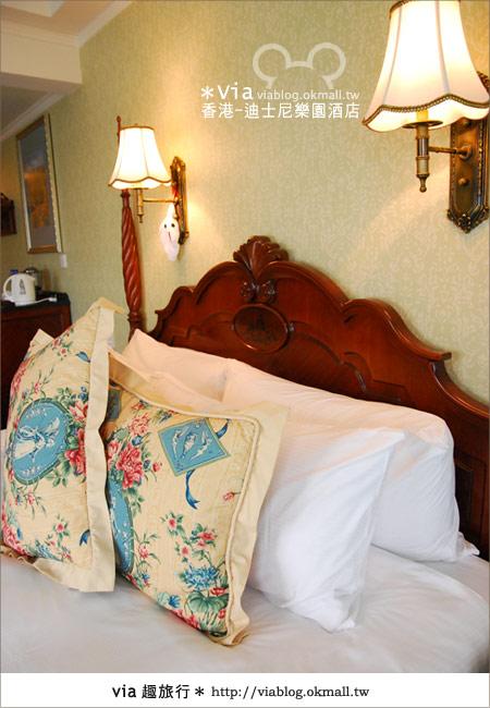 【香港住宿】跟著via玩香港(4)~迪士尼樂園酒店(外觀、房間篇)34