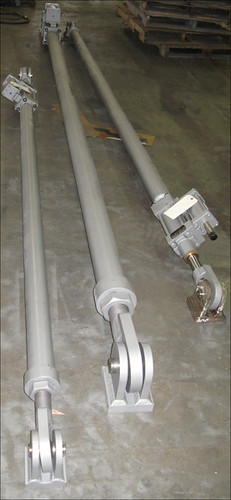 Hydraulic Snubber Assemblies for a LNG Processing Facility in Peru
