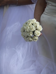 Bouquet ( Lee J Haywood) Tags: bouquet weddingdress usedbysomeone