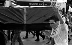 Gaza Flotilla Protest Dublin 30.05.2010 7 (Anthony Cronin) Tags: street analog photography all politics religion protest rights waters hp5 zion zionism humanrights seige irelanddublin lifeliving dublinlife photographystreet hp5ilford dublindublin dublinirish f8050mm streetdublin mavimarmara streetsdublin reservedirish photographystreets dublindublinersinside dublinliving conventioninternational dublinirelandnikon f14dy48 filteranthony croninanalogsimpliciusapug35mmfilm© irelandxtol11filmdevrecipe5424kodakkodak xtolilfordhp5ilford 400gaza flotillafreedom flotillaisraeloccupationsiegewwwipsciepalestinegazageneva tpastreet photangoirl