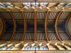 Nave Vault, William Butterfield, All Saints Margaret Street, London