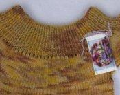 Girl's Cap Sleeve Sweater  Size 6/7