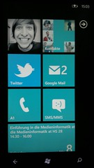 Windows Phone 7 Homescreen