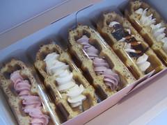 Peekaboo Waffle Desserts