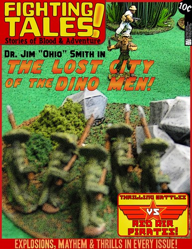 Fighting Tales: Lost City of the Dino Men