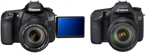 Canon 60D vs Canon 7D Compared