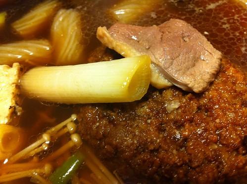 鴨肉ハンバーグ