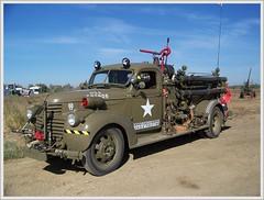 1942 GMC Army Fire Truck (Bob the Real Deal) Tags: show california ca rescue classic truck army kodak military firetruck hotrod gmc survivor militarybase firerescue dragraces firebaugh eaglefield oldgmc 1942gmc eaglefieldtwo 302inline6 302inlinesix dragstripfirerescue
